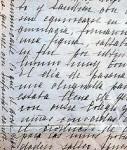 Autograf listu św. Teresy z Los Andes