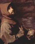 Św. Franciszek z Asyżu (mal. Zurbarán)