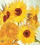 Słoneczniki, Van Gogh, fragment