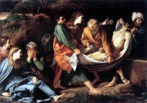 Złożenie do grobu (mal. Sisto Badalocchio)